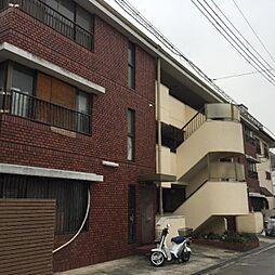 大阪府豊中市服部本町2丁目の賃貸マンションの外観