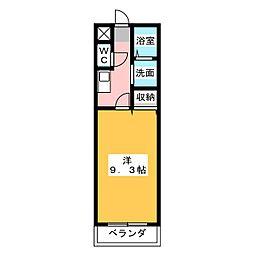 アンプルール リーブル JIFUKU[2階]の間取り