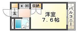 アルテハイム武庫之荘[2階]の間取り