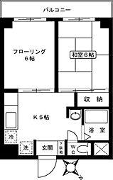 第2ケイアイマンション[305号室]の間取り