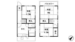 [一戸建] 兵庫県明石市和坂1丁目 の賃貸【/】の間取り