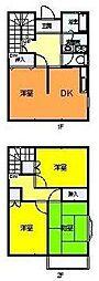 [テラスハウス] 神奈川県伊勢原市東大竹2丁目 の賃貸【/】の間取り