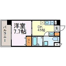 T'S Dream名駅[907号室]の間取り