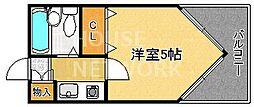 ライオンズマンション京都三条第2[304号室号室]の間取り