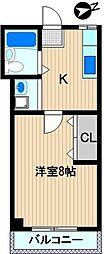 川崎ビル[3階]の間取り
