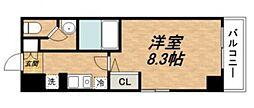 グランドステージ大阪城北[605号室号室]の間取り