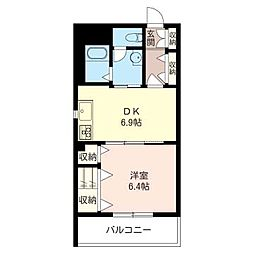 GRANVERIE[2階]の間取り