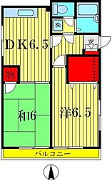カミーリャ青戸[1階]の間取り