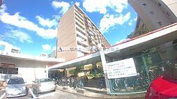 八戸ノ里グランドマンション[1階]の外観