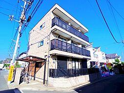 東京都小平市御幸町の賃貸アパートの外観
