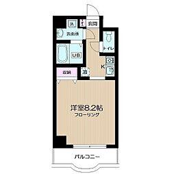 アーバンヴィラ新川崎[4階]の間取り