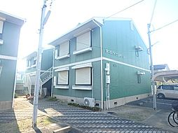 大阪府泉大津市北豊中町2丁目の賃貸アパートの外観