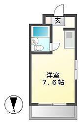 レイナビル[3階]の間取り