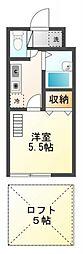 AZEST-RENT武蔵小金井[2階]の間取り