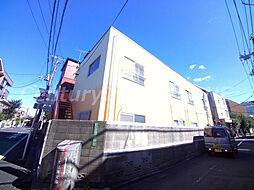 東京都文京区千駄木1丁目の賃貸アパートの外観