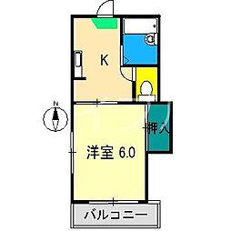 スカイTOKYO[1階]の間取り