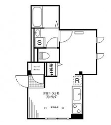 CHEZ-MOI[1階]の間取り