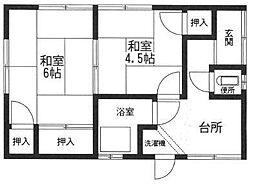 [一戸建] 神奈川県厚木市林4丁目 の賃貸【/】の間取り
