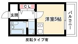 ザ・ヒルズI[3階]の間取り