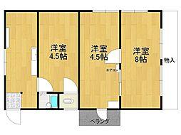 和富マンション[3階]の間取り