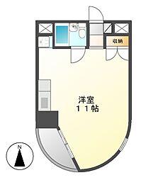 メゾンドアビーム[5階]の間取り