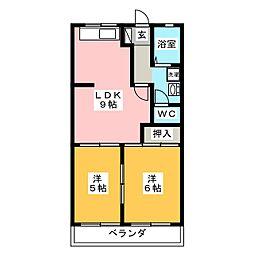 コミュ二ティタウン50[1階]の間取り