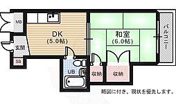 的場町駅 3.3万円
