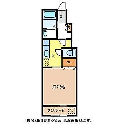 Kai[1階]の間取り