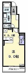 プリムローズ II[0103号室]の間取り