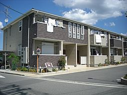 大阪府堺市北区中村町の賃貸アパートの外観