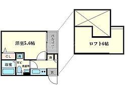 ESOLA[2階]の間取り