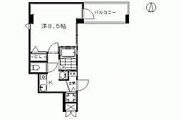 サムティ京都駅前[203号室号室]の間取り