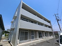 千葉県富里市七栄の賃貸マンションの外観