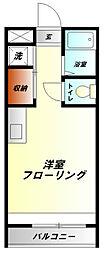 神奈川県小田原市浜町3丁目の賃貸マンションの間取り