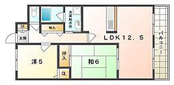 ガーデンステージ[2階]の間取り
