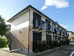 兵庫県加東市上中1丁目の賃貸アパートの外観