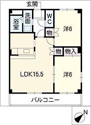 シャングリラ12[2階]の間取り