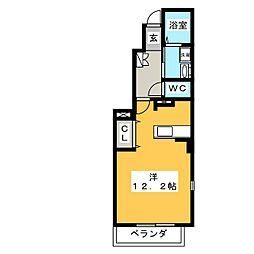 レッドスター[1階]の間取り