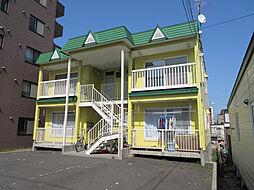 北海道札幌市東区北三十七条東16丁目の賃貸アパートの外観