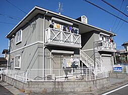 京都府宇治市宇治大谷の賃貸アパートの外観