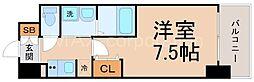 UURコート大阪十三本町[5階]の間取り