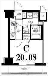 グリフィン横浜・サードステージ[8階]の間取り