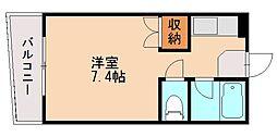 スカイマンション松山[2階]の間取り