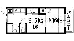 シャロン星の荘[1階]の間取り