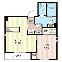 シャーメゾン雅[2階]の間取り