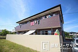 愛知県豊田市越戸町尺口の賃貸アパートの外観