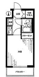 ライオンズマンション錦糸町第8[7号室]の間取り
