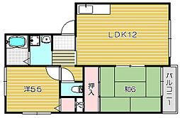 高井マンション[1階]の間取り