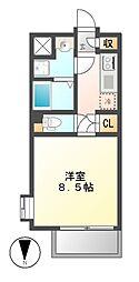 シュトラール千代田[10階]の間取り