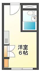 東カン名古屋キャステール[11階]の間取り